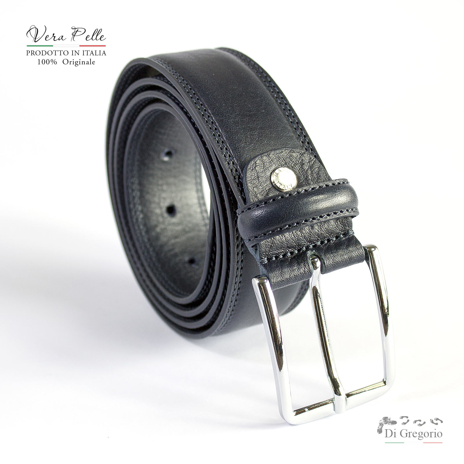 CINTURA IN PELLE DA UOMO LEATHER BELT FOR MEN